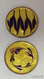 Handpainted lucky pennies
